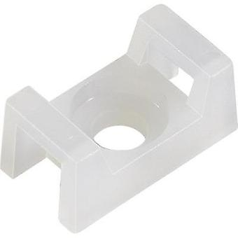 Cable mount Screw fixing White KSS