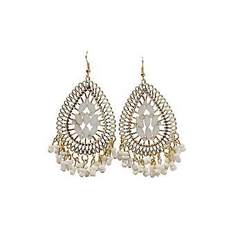 Unique boho chic statement earrings Ibiza style