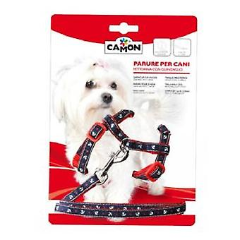 Camon Harness + Strap Anchor 10x1200 mm (Chiens , Equipement , Laisses)
