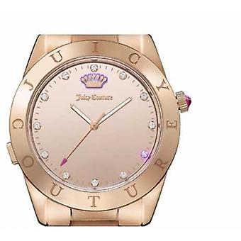 Juicy Couture Womans Malibu Connect Rose Gold Smartwatch 1901501 Watch
