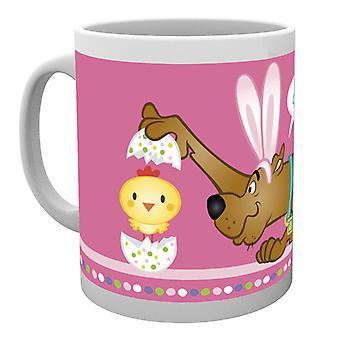 Scooby Doo Ostern Küken Ostern Becher Mug