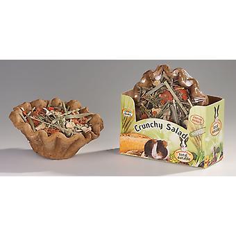 Quiko små dyr sprøde sprøde skål salat Veggie 250g (pakke med 6)