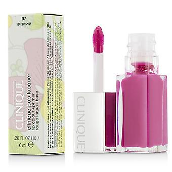 Clinique Pop lak Lip Colour + Primer - # 07 Go-Go Pop 6ml / 0.2 oz