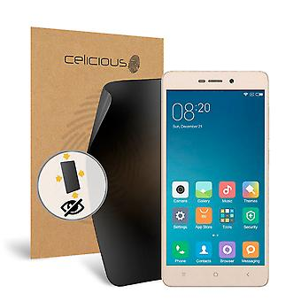 Celicious Privacy Plus Xiaomi Redmi 3s 4-Way Visual Black Out Screen Protector