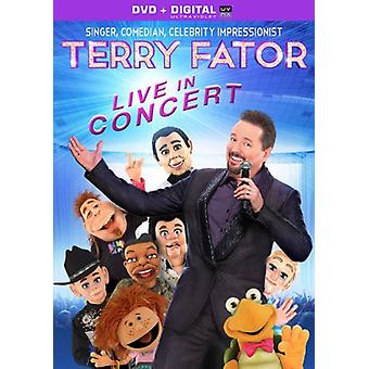 Terry Fator - Live in Concert [DVD] USA import