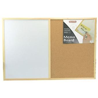 Kitchen Home 60x40 Vinyl Cork Memo Board