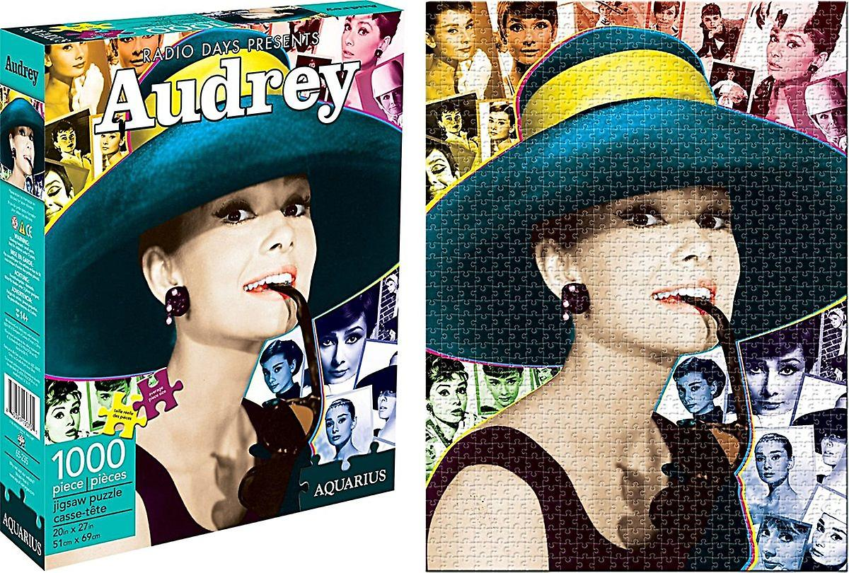 Audrey Hepburn 1000 piece jigsaw puzzle  690mm x 510mm  (nm)