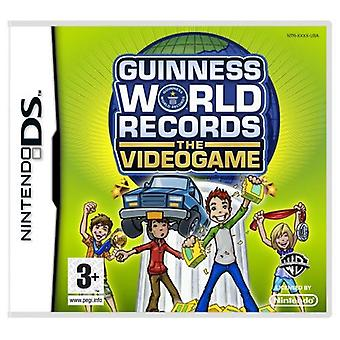 Guinness Book Of Records videospill Nintendo DS spillet