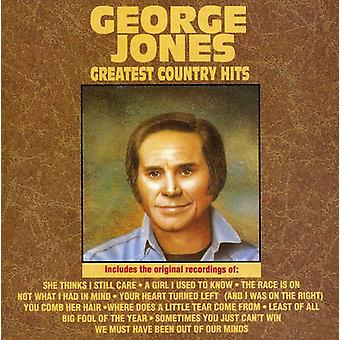 George Jones - importación de Estados Unidos país Greatest Hits [CD]
