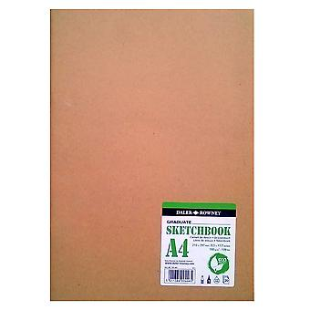 Daler Rowney Graduate Sketch Book - Earthbound A4