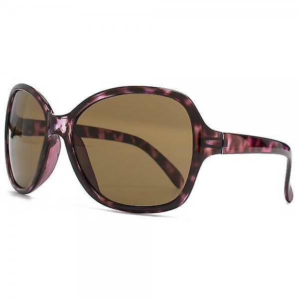 Monkey Monkey Childrens Lily Fine Frame Square Sunglasses In Purple Tortoiseshell