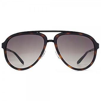 Carrera 96/S Aviator Sunglasses In Havana Black