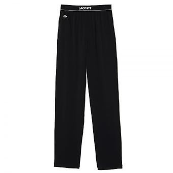 Lacoste Stretch Cotton Loungepant, Black, Small