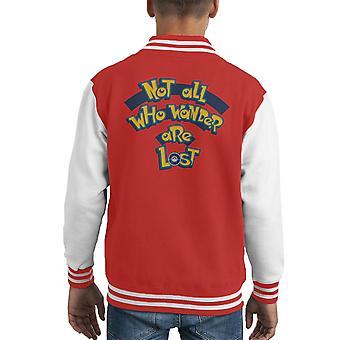 The Adventure Awaits Pokemon Kid's Varsity Jacket