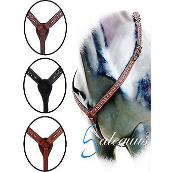 Galequus Brown Cowboy Calado petral