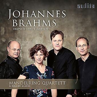 Brahms / Mandelring Quartett / Glassl - Johannes Brahms: importación de USA de quintetos de cuerda completa [CD]
