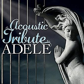 Divers artiste - Acoustic Tribute to import USA Adele [CD]