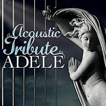 Forskellige kunstner - akustisk hyldest til Adele [CD] USA import