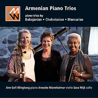 Babajanian / Klingberg / Mannheim - armenske klaver trioer [CD] USA import