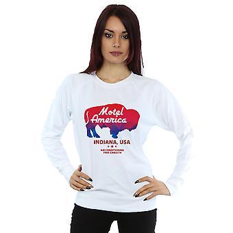 Amerikanske guder kvinders Motel Buffalo Sweatshirt