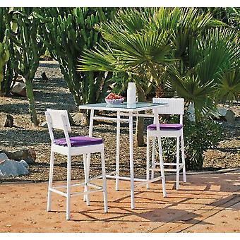 Hevea Bar table milano-75 huitex white (Garden , Furniture and accessories , Tables)