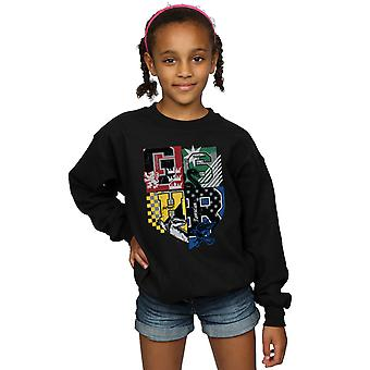 Harry Potter Girls Hogwarts Varsity Sweatshirt