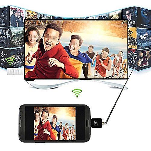 ONX3 Mini Portable Micro USB DVB-T Digital Mobile TV Tuner Receiver For Huawei Y5 (2017)