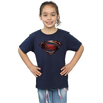 DC Comics Girls Justice League Movie Superman Emblem T-Shirt