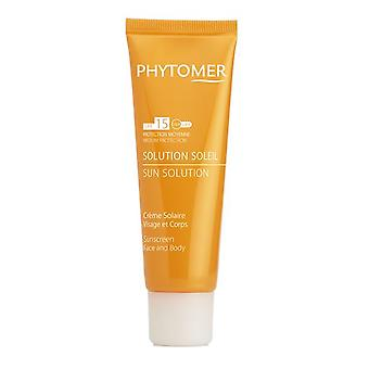 Phytomer Solution Sun protection solaire SPF15 125ml