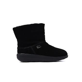 Women's Mukluk Shorty 2 Boots - All Black Suede