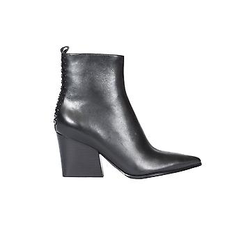 Kendall + Kylie women's KKFELIX01 black leather ankle boots