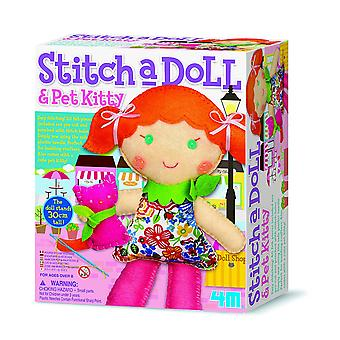 4M Stitch A Doll - Go Shopping