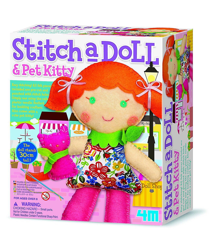 4M Stitch A Doll - Go Shopping