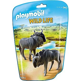 Playmobil Wildlife - Wildebeests Figures