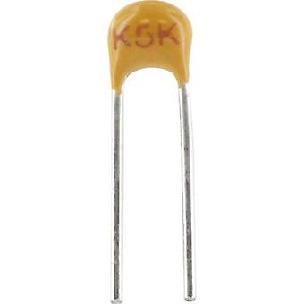 Ceramic capacitor Radial lead 33 nF 100 V 20 %