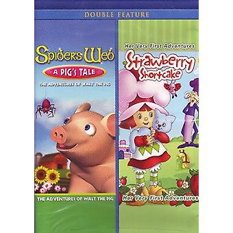 Spider's Web: A Pig's Tale/Strawberry Shortcake [DVD] USA import