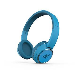 IFROGZ CODA WIRELESS HEADPHONES WITH MIC BLUE