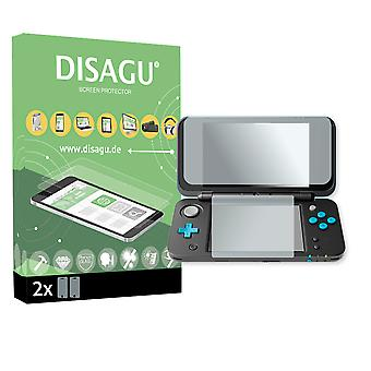 New Nintendo 2DS XL screen protector - Disagu flexible tempered glass protective film