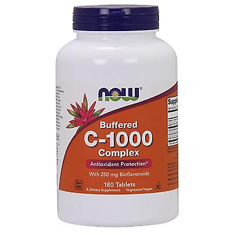 Now Foods Vitamin C 1000 Complex Buffered with 250 mg Bioflavonoids 180 tabs