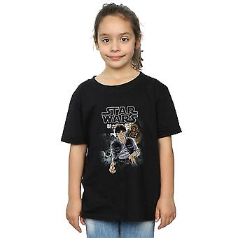 Star Wars Girls Han And Chewie Anime T-Shirt