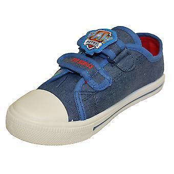 Paw Patrol Boys Peinda Cartoon Touch Close Low-Top Shoes