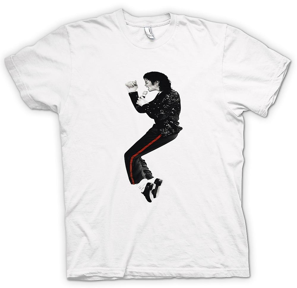 Womens T-shirt-Michael Jackson-Bad
