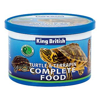 King British Turtle & Terrapin Complete Food 80g - Valentina Valentti UK