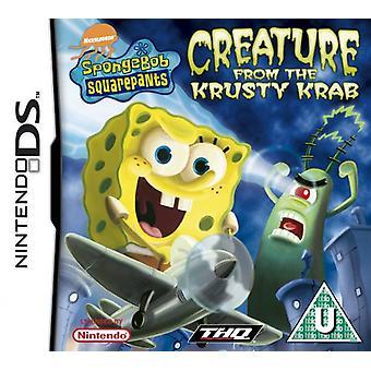 SpongeBob Schwammkopf-Kreatur aus der Krossen Krabbe (Nintendo DS)