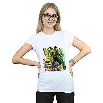 Marvel Women's Avengers Hulk Incredible Avenger T-Shirt