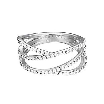 ESPRIT women's ring silver zirconia brilliance ESRG92531A1