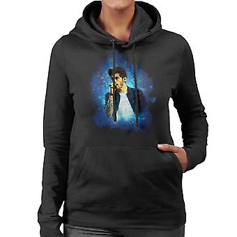 Zayn Malik Of One Direction Murrayfield Stadium 2014 Women's Hooded Sweatshirt