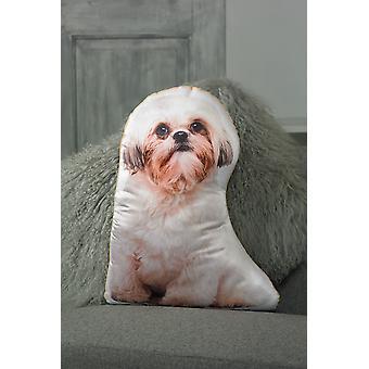 Adorable Shih Tzu Shaped Cushion