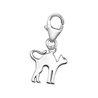 Cat - 925 Sterling Silver Charms with Lobster