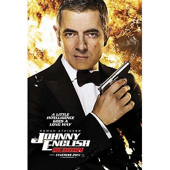 Johnny English Reborn Movie Poster (11 x 17)